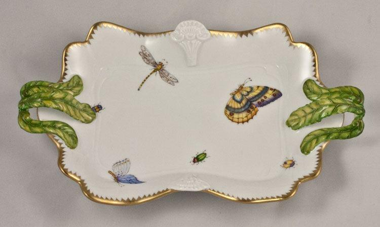 Ornate Tray with Handles