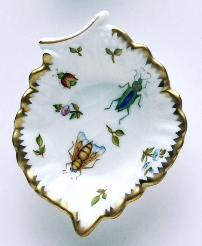 Dragonfly Leaf Ring Dish