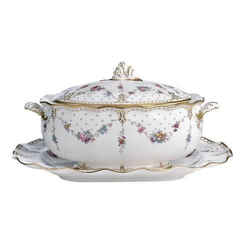 $1760.00 Soup Tureen and Cover  sc 1 st  BB\u0026G - Bridge & Royal Crown Derby ~ Royal Antoinette ~ Soup Tureen and Cover Price ...