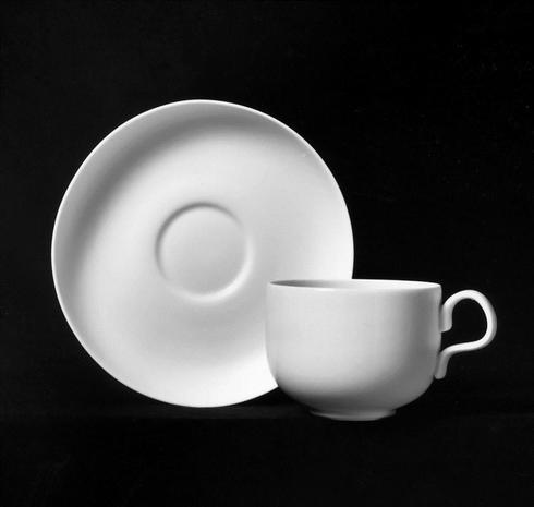 White Coffee Saucer