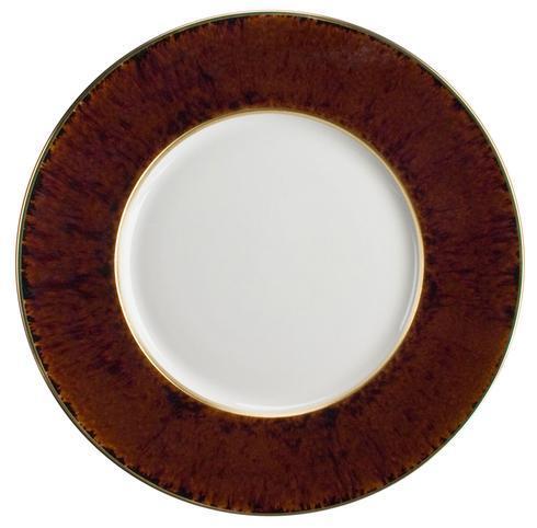 Jaune de chrome  Tortoise Gold Finition Dinner Plate $185.00