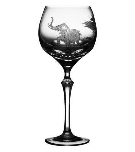 $75.00 Elephant Water Glass