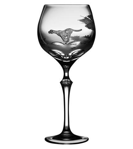 $40.00 Cheetah Water Glass