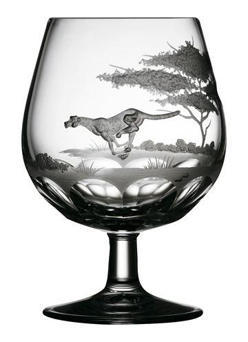 $250.00 Cheetah Brandy Snifter