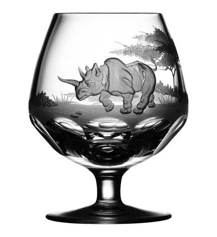 Rhino Brandy Snifter