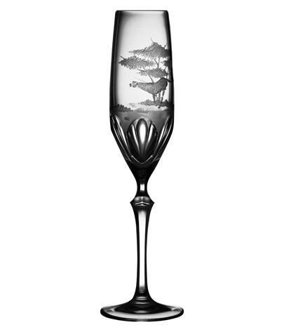 $250.00 Cheetah Champagne Flute