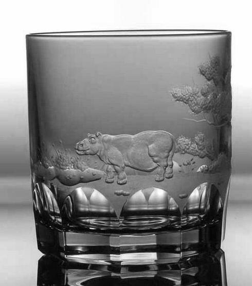 Hippo Double Old Fashioned Glass