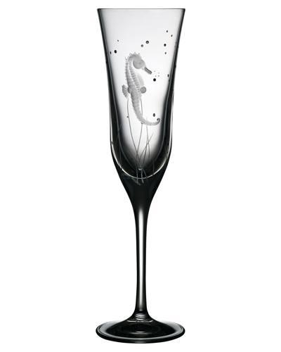 $125.00 Seahorse Champagne Flute