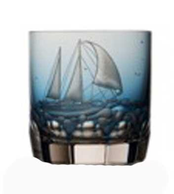 Sky Blue Double Old Fashioned Sailing #2