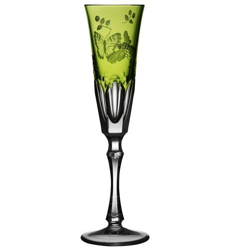 $264.00 Yellow/Green Champagne Flute