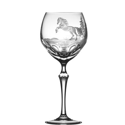 Apaloosa Horse Water Goblet