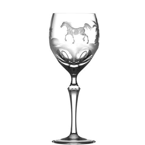 Arabian Thoroughbred Wine Glass