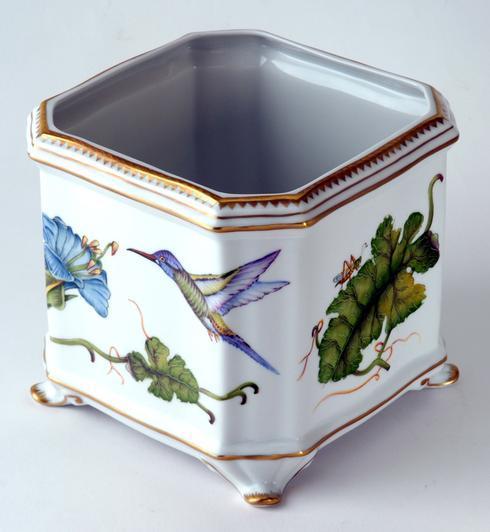 $598.00 Hummingbird Square Cachepot