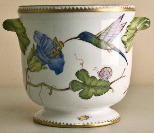 Hummingbird Cachepot
