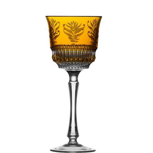 $238.00 Amber Water Glass