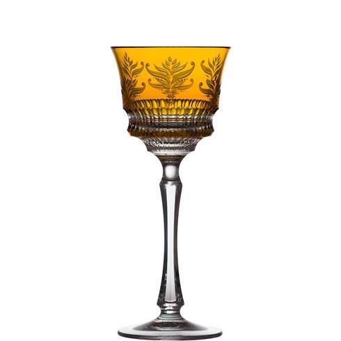 $238.00 Amber Wine Glass