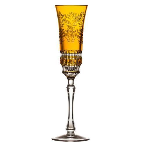 $238.00 Amber Champagne Flute