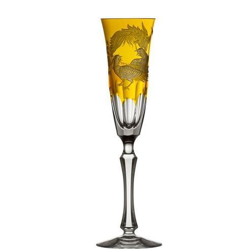 $398.00 Amber Champagne Flute
