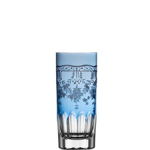 $298.00 Sky Blue Highball Glass