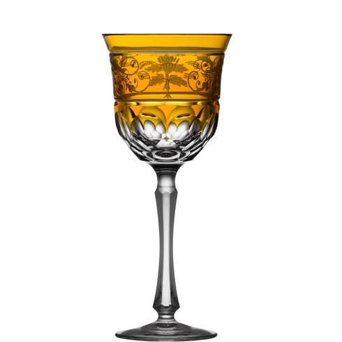 $318.00 Amber Water Glass