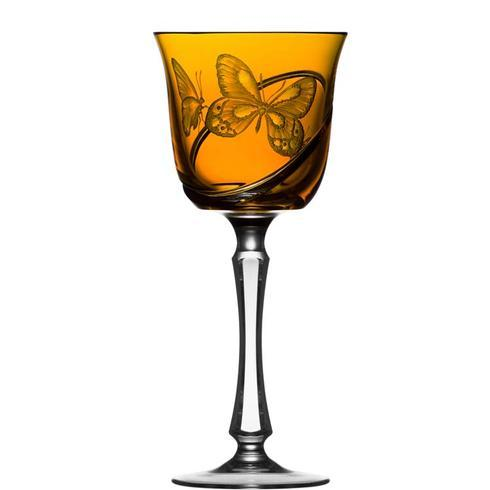 $248.00 Amber Water Glass