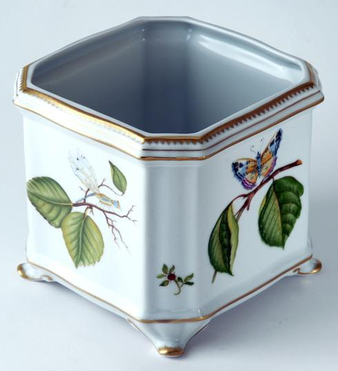 $595.00 Floral Butterfly Cachepot