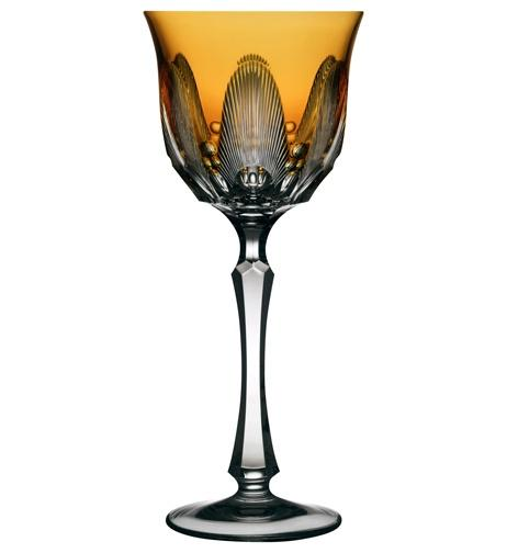 $230.00 Amber Water Glass