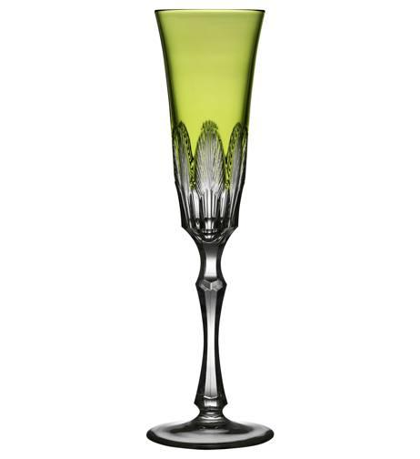 $230.00 Yellow/Green Champagne Flute