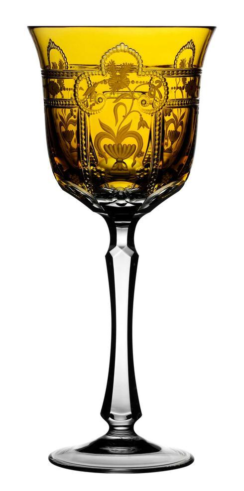 $298.00 Amber Water Glass