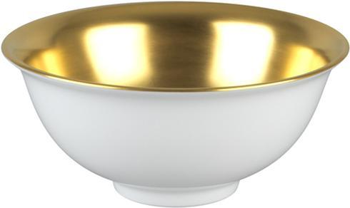 Rice Bowl - Gold Inside