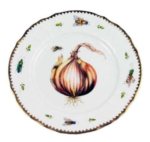 Anna Weatherley  Antique - Vegetables Onion Salad Plate $290.00