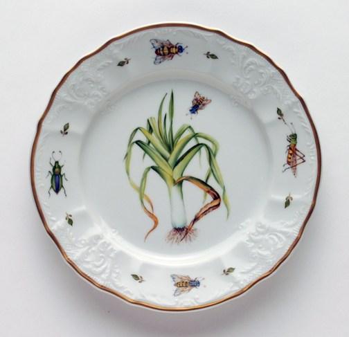 $320.00 Leek Salad Plate