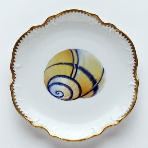 Yellow/Blue Bread & Butter Plate #2
