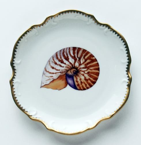 $270.00 Brown Bread & Butter Plate #3