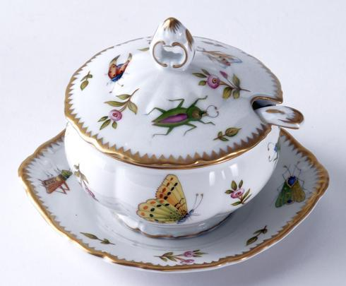 Anna Weatherley  Spring in Budapest Condiment Dish & Spoon $340.00