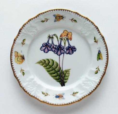 $320.00 Purple Flower Salad Plate