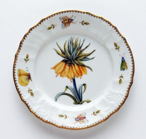 $320.00 Yellow Flower Salad Plate