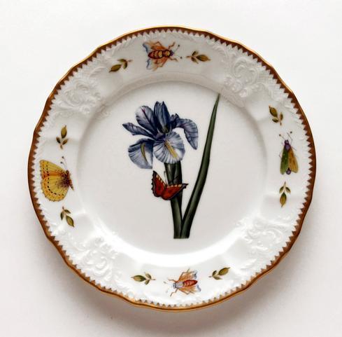$320.00 Blue Iris Salad Plate