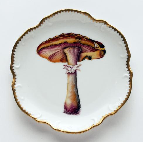 Mushroom #2 Hors D'Oeuvre Plate