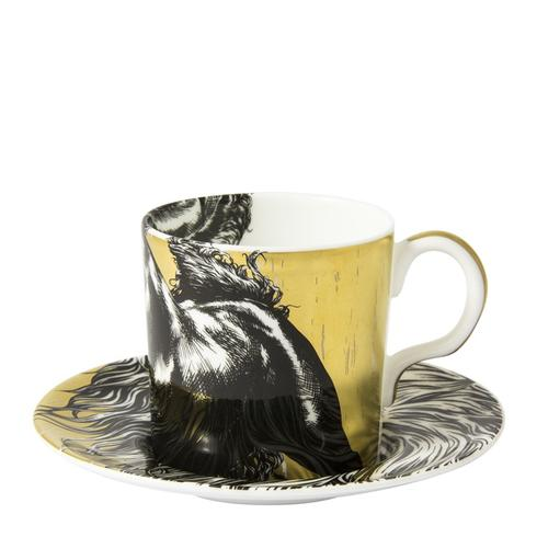 $258.00 Coffee Cup and Saucer (Boxed)
