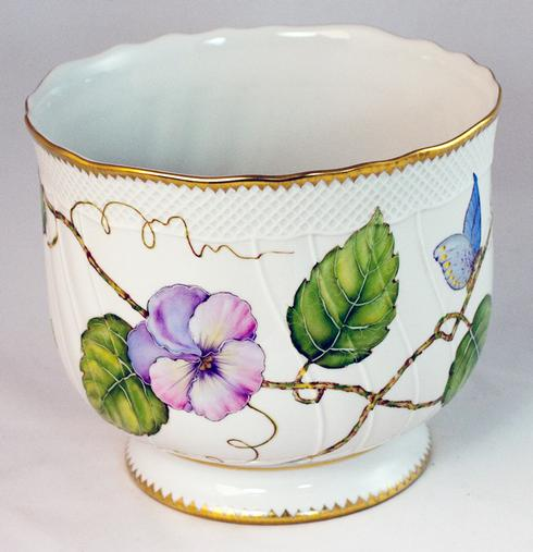 $425.00 Pansy Cachepot