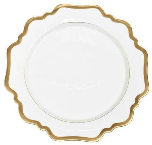 Anna Weatherley  Antique White with Gold Bread and Butter $58.00