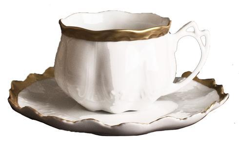 Anna Weatherley  Anna's Golden Patina Tea Cup and Saucer $105.00