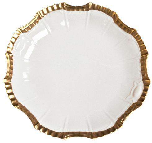 Anna Weatherley  Anna's Golden Patina Star Plate $125.00