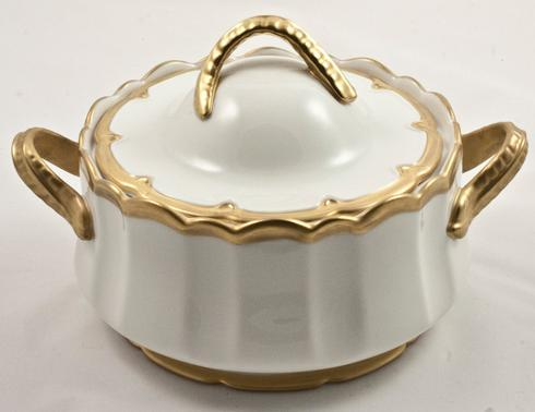Anna Weatherley  Anna's Golden Patina Covered Dish $160.00