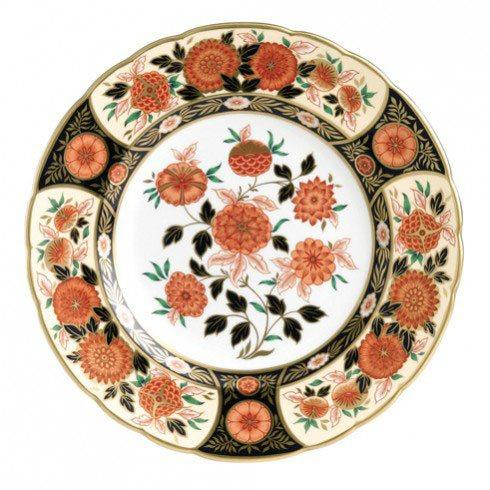 Royal Crown Derby  Imari Accent Antique Chrysanthemum Plate in Gift Box $244.00