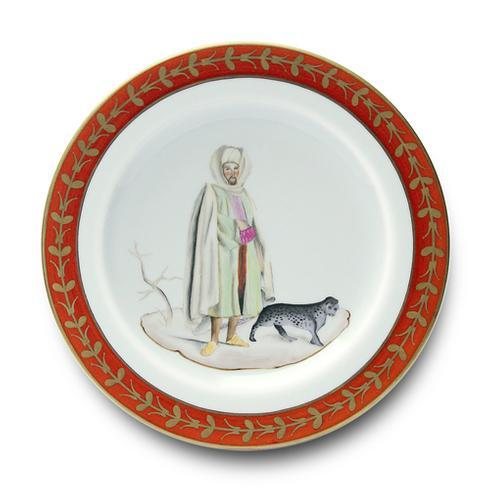 Desert Man with Tiger Buffet Plate