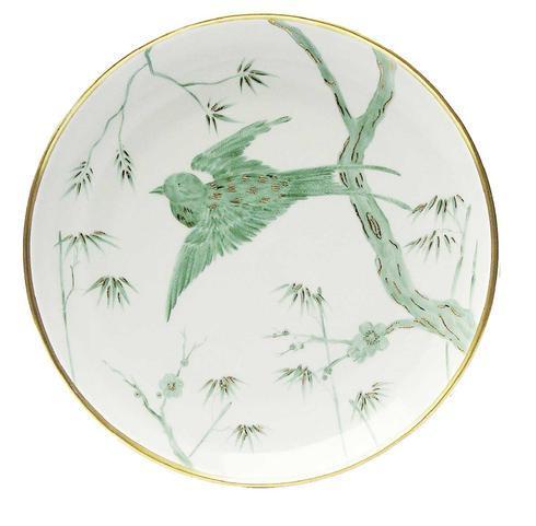 $300.00 Green Bird Dinner Plate