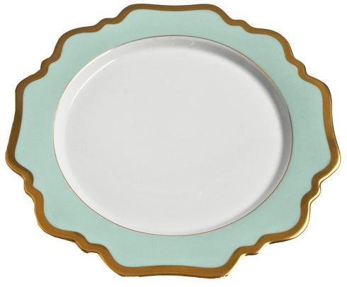Anna Weatherley  Anna's Palette - Aqua Green Dinner Plate $98.00