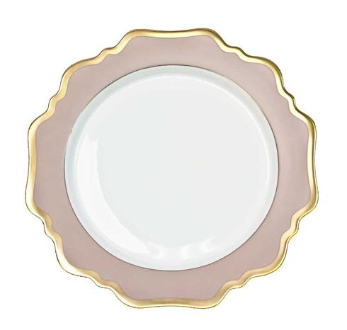 Anna Weatherley  Anna's Palette - Dusty Rose Dinner Plate $98.00